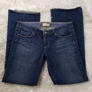 Paige low rise laurel canyon bootcut jeans Sz 30